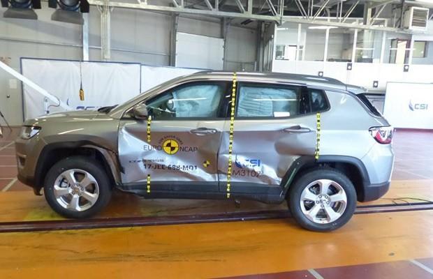Estabilidade do habitáculo do Jeep foi elogiada pelo Euro NCAP (Foto: Divulgação)