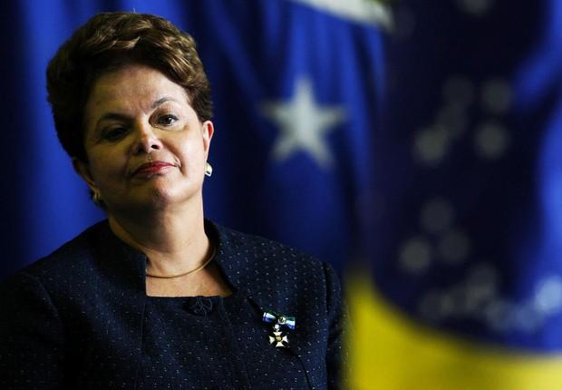 A ex-presidente Dilma Rousseff: no final do primeiro ano de governo, popularidade acima de Lula e de FHC (Foto: Arquivo/Agência Brasil)