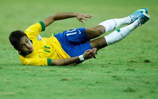Neymar, Brasil x Chile (Foto: Wagner Meier/Agência Estado)