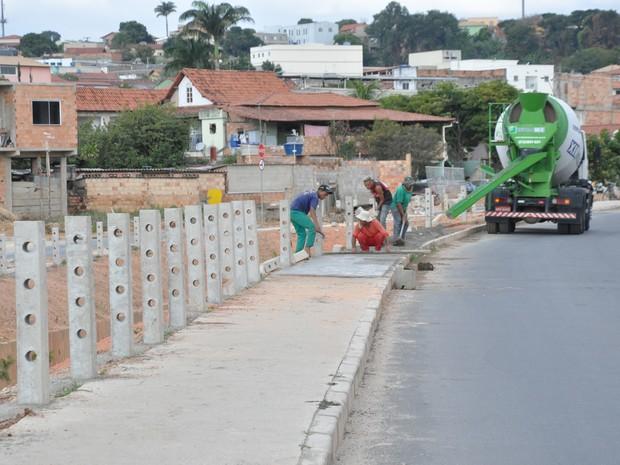 Avenida Sanitária Dois, em Contagem, na Região Metropolitana (Foto: Luiz Henrique Grossi/Prefeitura de Contagem)