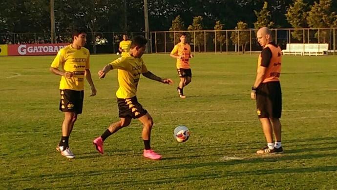 Criciúma treino (Foto: Divulgação/Criciúma EC)