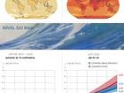 Vídeo da Nasa simula 'viagem' do CO2 pela atmosfera da Terra