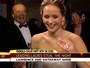 Jack Nicholson joga charme para Jennifer Lawrence ao vivo na TV