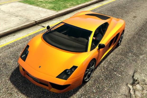 Lamborghini Gallardo vira Pegassi Vacca no GTA 5 (Foto: Reprodução)