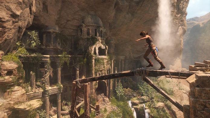 Nova aventura tem ambientes imensos totalmente exploráveis (Foto: Divulgação/Microsoft)