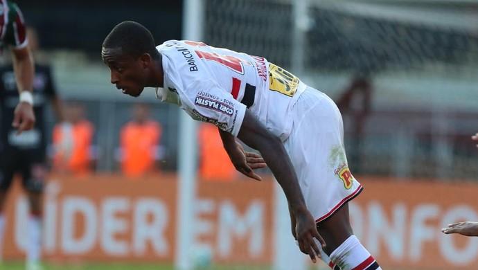 São Paulo x Fluminense Denilson (Foto: Rubens Chiri/saopaulofc.net)