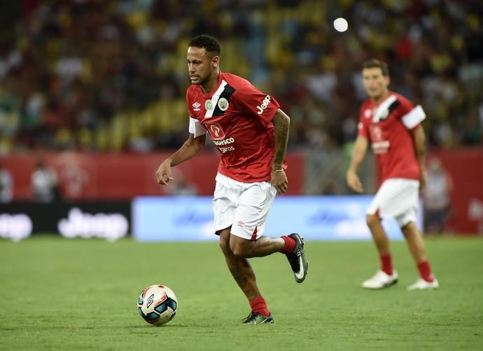Neymar Jogo das Estrelas Maracanã (Foto: André Durão)