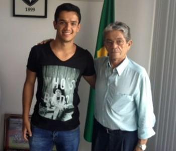 Alipio é anunciado pelo Vitória (Foto: Divulgação / E.C. Vitória)
