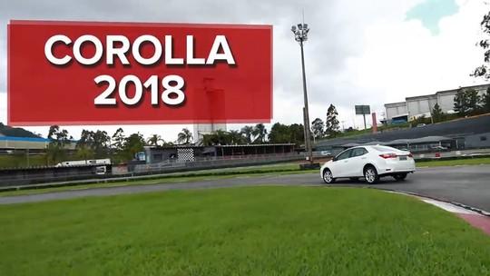 VÍDEO: Toyota Corolla muda pouco para continuar líder