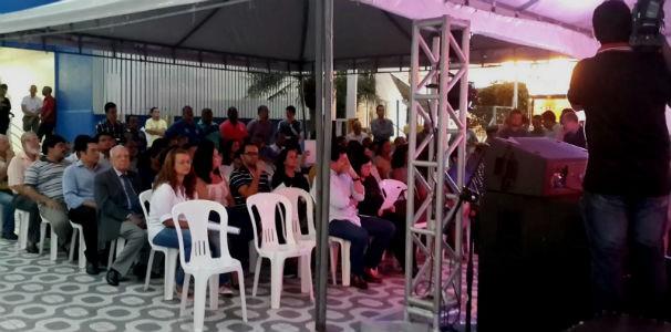 Início da missa na TV Gazeta  (Foto: Divulgação/ Marketing OAM)