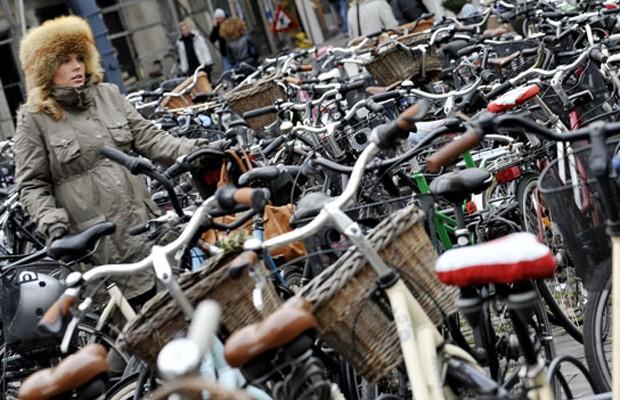 Mar de bikes (Foto: Getty)