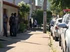 Filha de PM é baleada na porta de casa (Reprodução/ TV Gazeta)