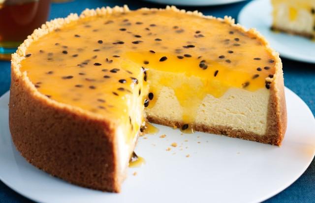 Cheesecake de Maracujá (Foto: Divulgação)