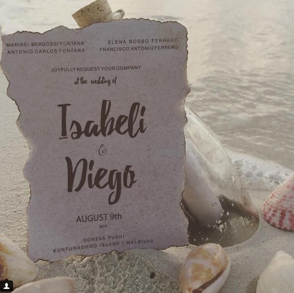 IsabeliFonata compartilha mensagem após casamento (Foto: Reprodução / Instagram)