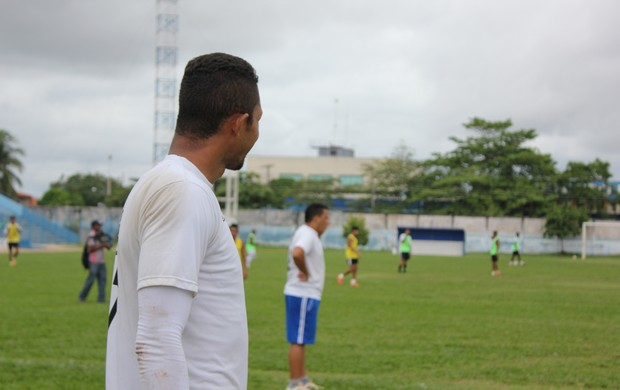 Dida acerta com Santos Porto Velho para jogar a Segundinha (Foto: Hugo Crippa/GLOBOESPORTE.COM)