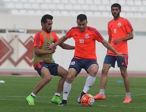 Renato Cajá, meia Sharjah FC (Foto: Divulgação Sharjah FC)