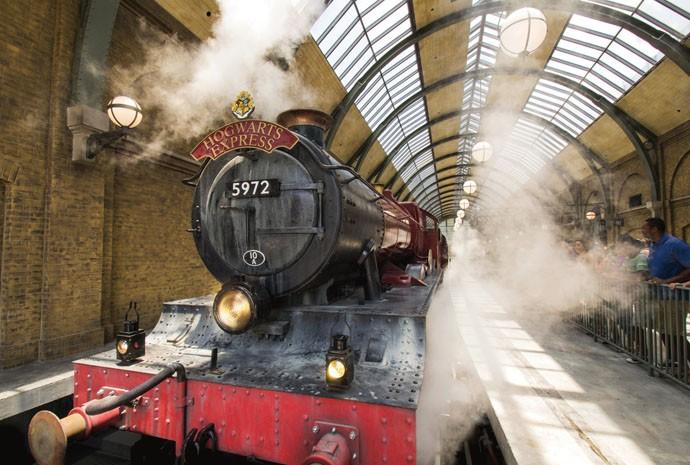 Embarque no Expresso de Hogwarts (Foto: Divulgação)