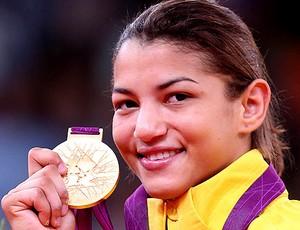 Prêmio Olímpico - Sarah Menezes (Foto: Editoria de Arte / Globoesporte.com)