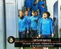 CR7 ironiza pênalti do Barça e aproveita para tirar sarro do companheiro Arbeloa