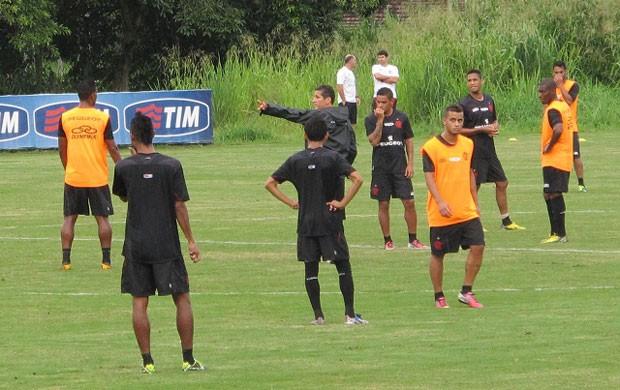Flamengo treino (Foto: Richard Souza)