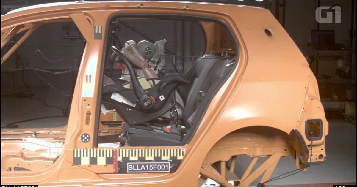 c765a47ae3 Auto Esporte - Teste com oito cadeirinhas mostra falhas em todos os modelos