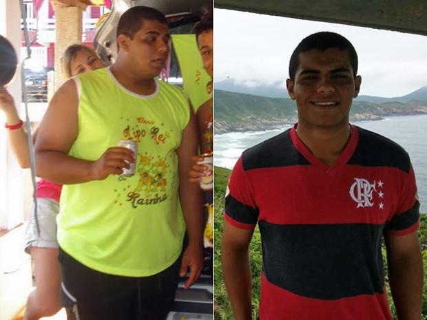 """""""Tudo ficou mais fácil: sentar, estudar, ter atenção, acordar. Minha vida mudou"""", avalia Jorge depois de perder 48 kg (Foto: Arquivo pessoal/Jorge Henrique Reis Xavier)"""