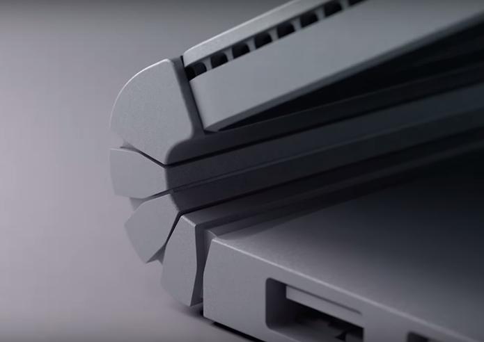 Surface tem dobradiça diferente, que se move junto com a tela (Foto: Divulgação)