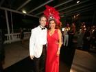 Famosos têm noite de gala no baile de carnaval do Copacabana Palace