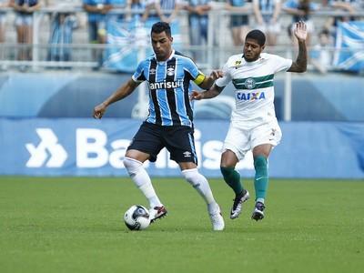 Maicon Grêmio x Coritiba (Foto: Lucas Uebel/Divulgação Grêmio)