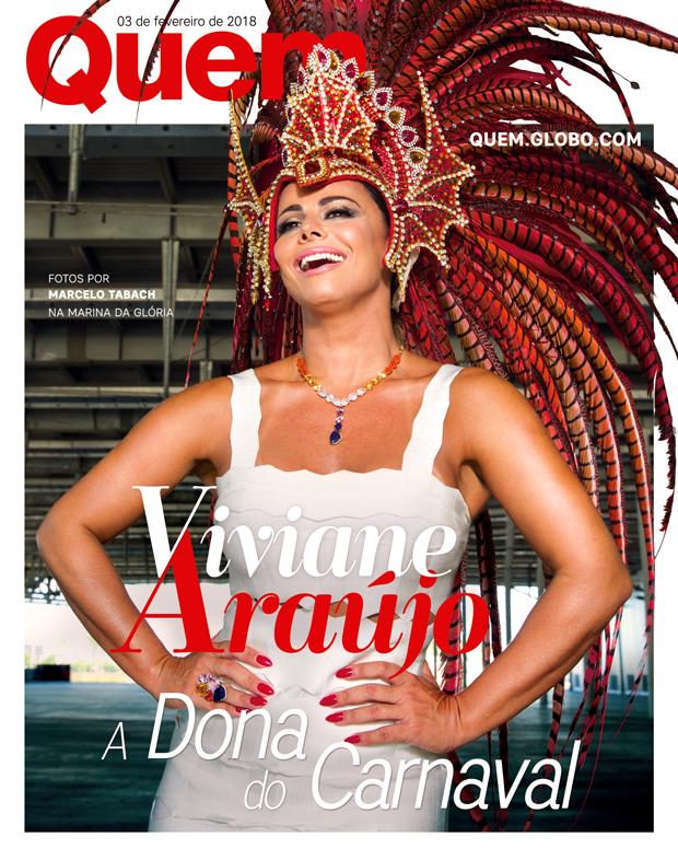 Viviane Araújo Capa (Foto:  )
