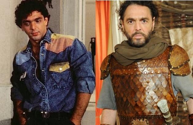 Guilherme Leme interpretou o personagem Rico. O último papel do ator na TV foi em 'A Terra Prometida', da Record, no ano passado (Foto: Reprodução)