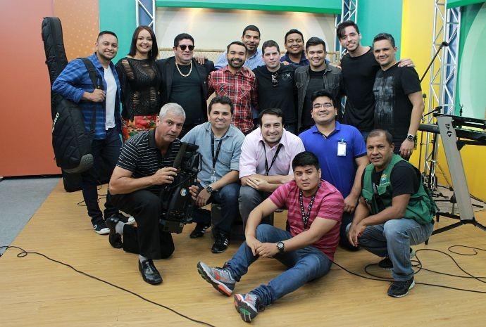 Equipe do Paneiro  (Foto: Katiúscia Monteiro/ Rede Amazônica)