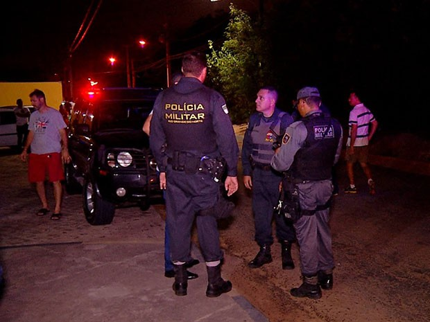 Crime aconteceu na noite desta quarta-feira (3) na Zona Sul de Natal (Foto: Reprodução/Inter TV Cabugi)