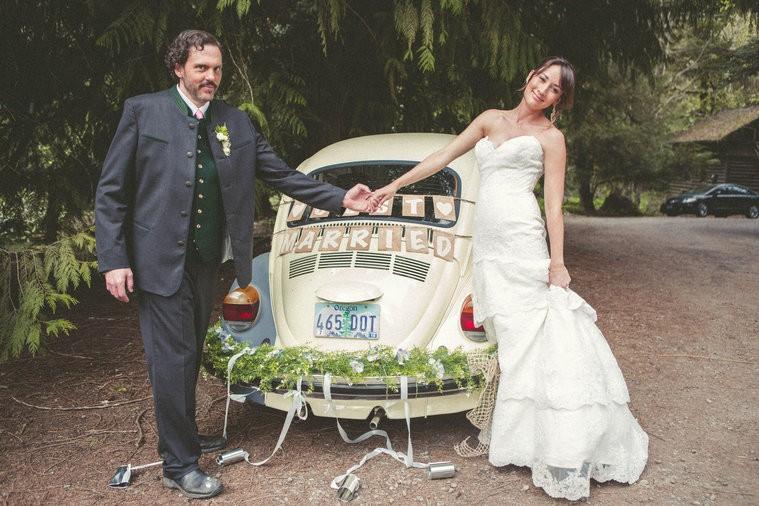 Casamento Monroe e Rosalee (Foto: divulgao)