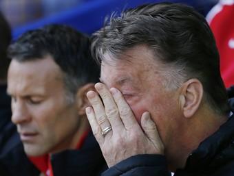Louis Van Gaal Everton Manchester United (Foto: Reuters)