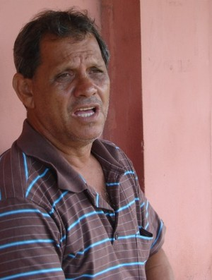 Robson Santana, presidente da Desportiva Ferroviária (Foto: Bruno Marques/Globoesporte.com)