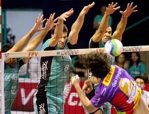 Campinas vence o Vôlei Futuro pela semifinal do Campeonato Paulista (Foto: Divulgação / Medley)