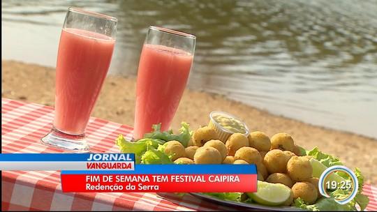 Redenção da Serra tem festival caipira neste domingo (12)