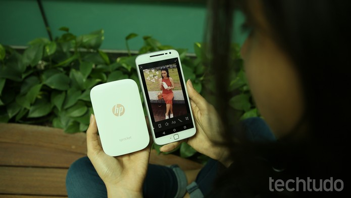 Hp Sprocket (Foto: Aline Batista/TechTudo)