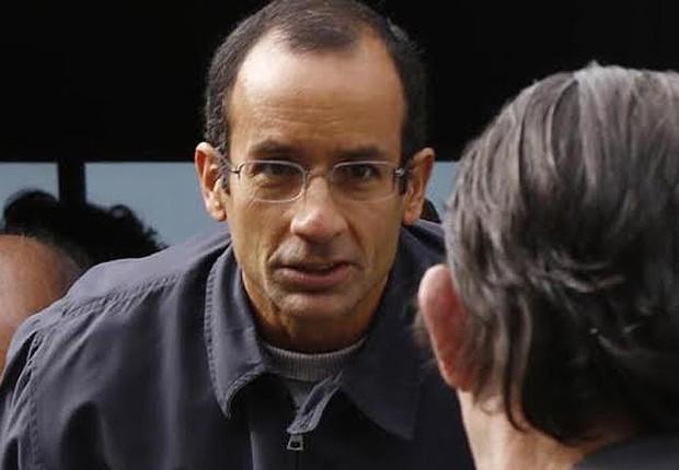 O empresário Marcelo Odebrecht , em foto feita no dia da prisão da Operação Lava Jato em 19 de junho de 2015 (Foto: Agência O Globo/Arquivo)