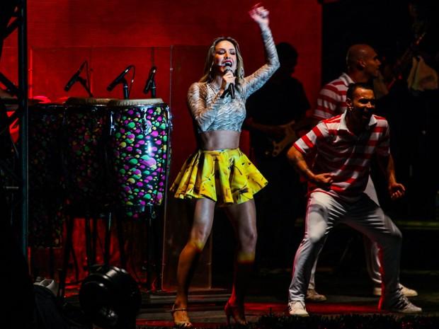 Claudia Leitte em show em Guarulhos, São Paulo (Foto: Manuela Scarpa/ Foto Rio News)