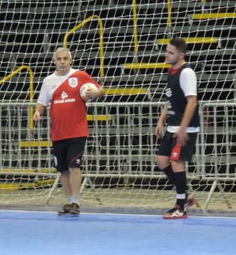 Serginho Schiochet, técnico do Sorocaba Futsal (Foto: Guilherme Giavoni)