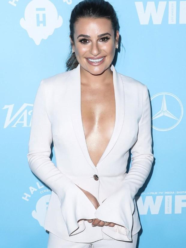 Lea Michele em festa pré-Emmy (Foto: AKM Images) (Foto: AKM Images)