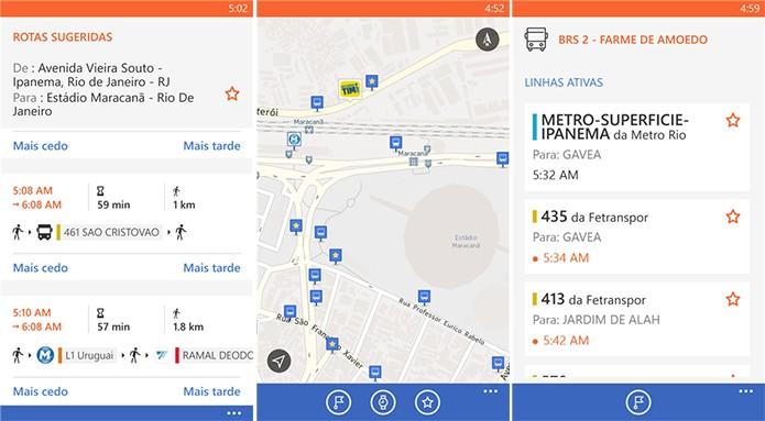 Moovit é um aplicativo para Windows Phone com informações de ônibus, trens e metrôs (Foto: Divulgação/Windows Phone Store)