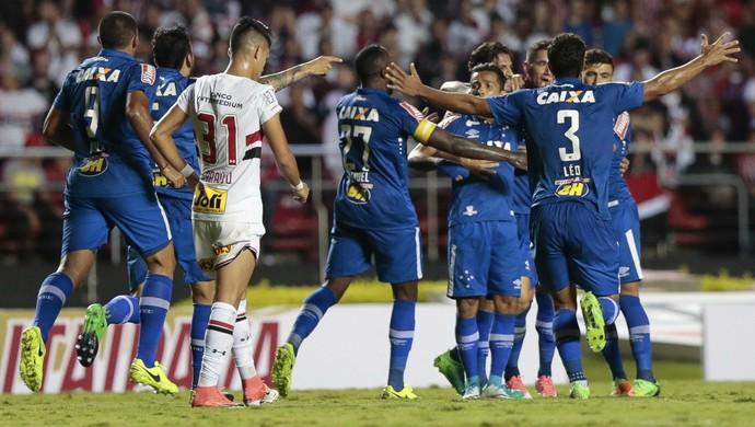 Cruzeiro; São Paulo; Morumbi (Foto: Marcello Zambrana/Light Press)