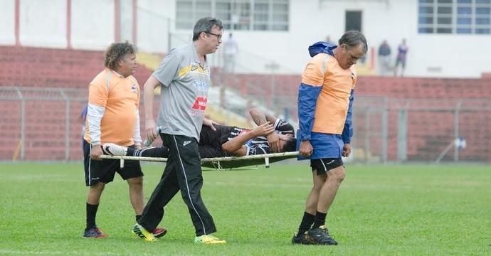 Wallace, atacante Rio Branco (Foto: Sanderson Barbarini | FOCO NO ESPORTE)