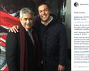 """Julio César ironiza dirigente de rival: """"Olha eu encostado pelo Benfica"""""""