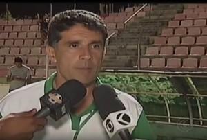 Mamoré Paracatu amistoso Patos de Minas Wallace Lemos (Foto: Reprodução/TV Integração)