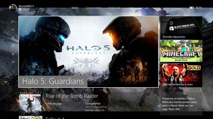 Como alterar a dublagem e tradução das legendas de Halo 5 (Foto: Reprodução/Murilo Molina)