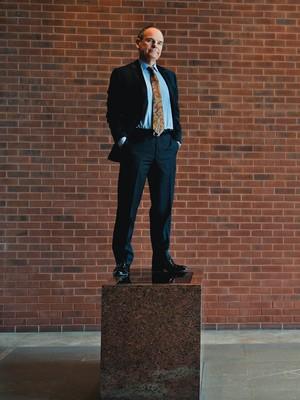 MAIS UM TIJOLO Don Tapscott, o defensor da colaboração. Ele mapeou nove tipos de redes (Foto: Carlos Osorio/Toronto Star/Getty Images)